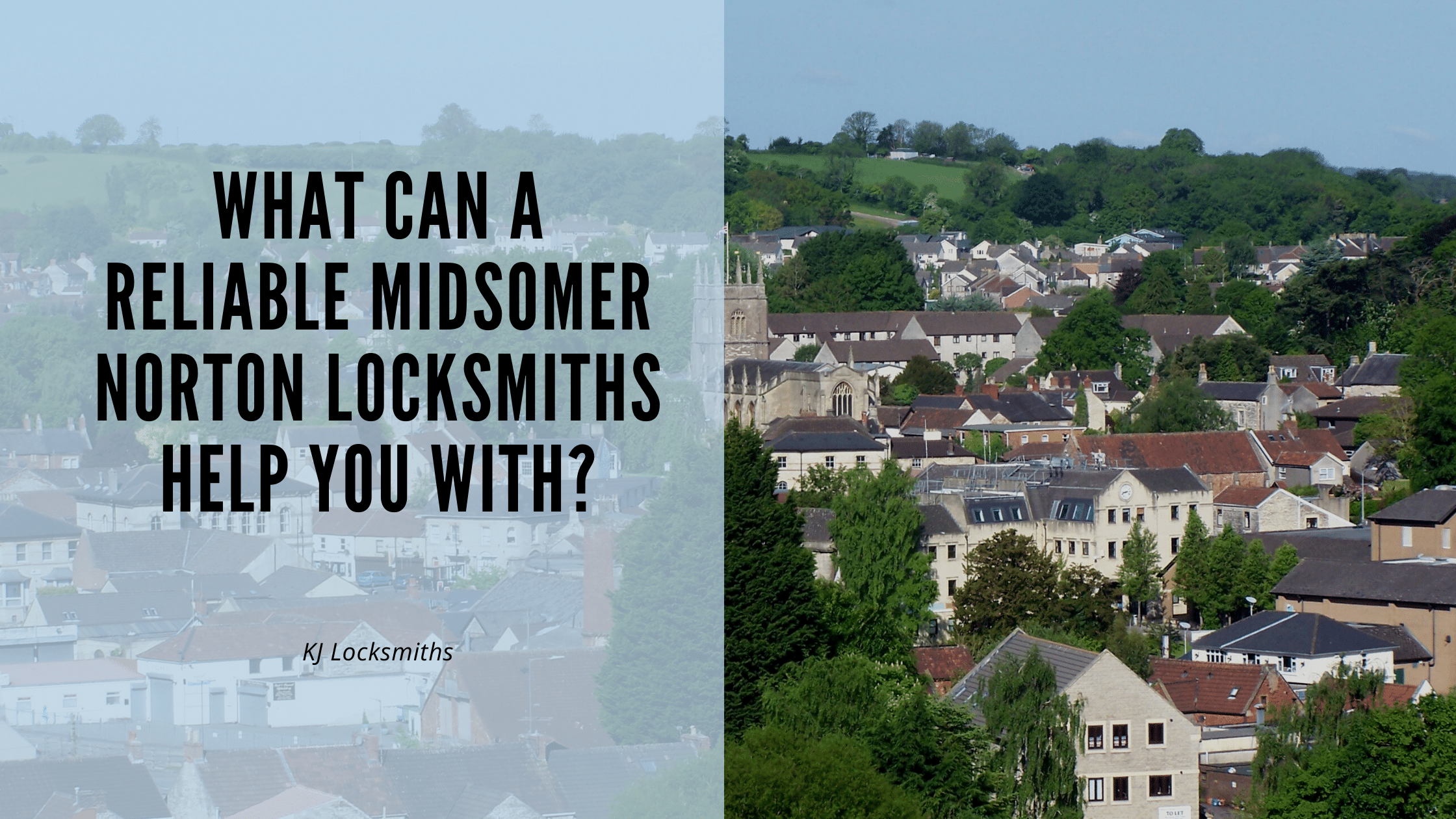 What Can A Reliable Midsomer Norton Locksmiths Help You With?